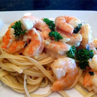 Shrimp Scampi Bake - RecipeNode.com
