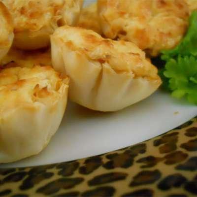 Shrimp Scampi Cheesecake Appetizer - RecipeNode.com