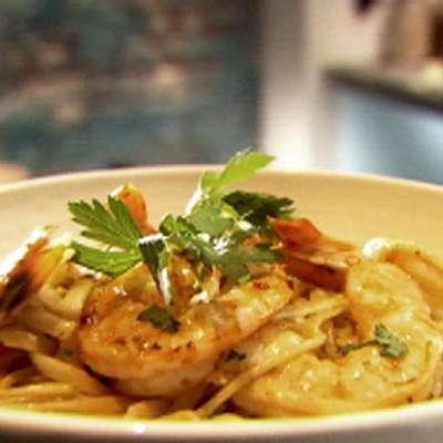 Shrimp Scampi with Linguini - RecipeNode.com