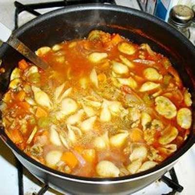 Sicilian Sausage Soup - RecipeNode.com