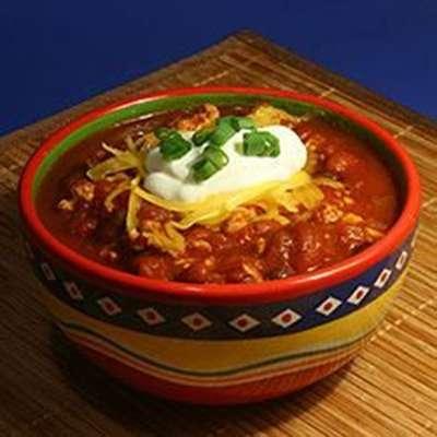 Simple Turkey Chili - RecipeNode.com