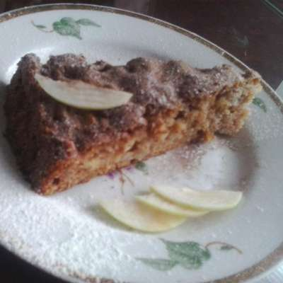 Skillet Apple Brownie - RecipeNode.com
