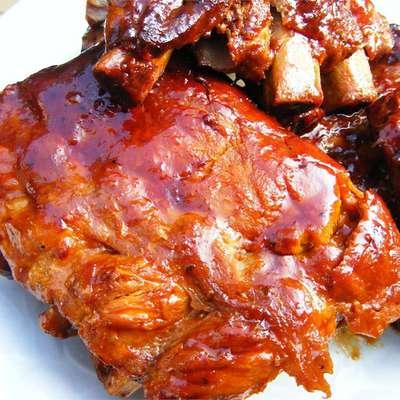 Slow-Cooker Barbecue Ribs - RecipeNode.com
