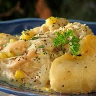 Slow Cooker Chicken and Dumplings - RecipeNode.com