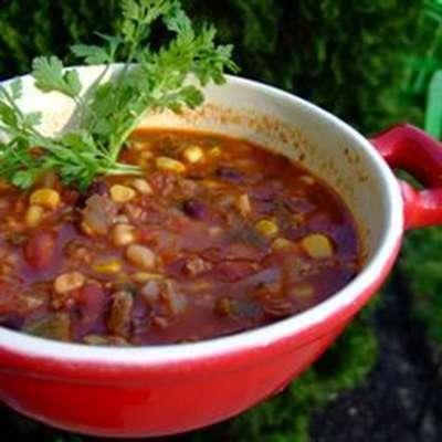 Smokin' Scovilles Turkey Chili - RecipeNode.com
