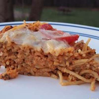 Spaghetti Torte - RecipeNode.com