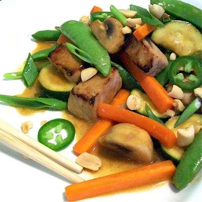 Spicy Pork Stir-Fry - RecipeNode.com