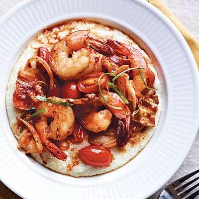 Spicy Shrimp and Grits - RecipeNode.com