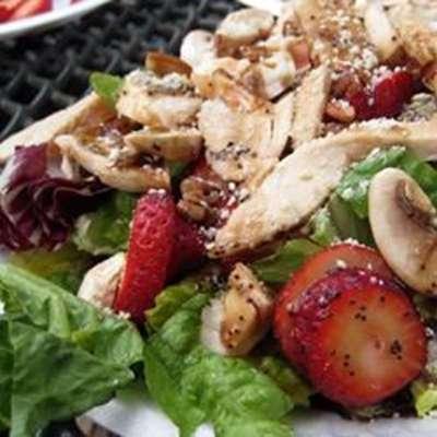 Spicy Strawberry Salad - RecipeNode.com