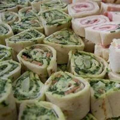 Spinach Roll-Ups - RecipeNode.com