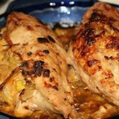 Squash Stuffed Chicken Breasts - RecipeNode.com