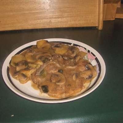 Stovetop Pork Chops and Potatoes - RecipeNode.com
