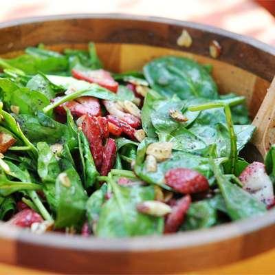 Strawberry Spinach Salad I - RecipeNode.com