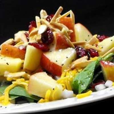 Super Seven Spinach Salad - RecipeNode.com