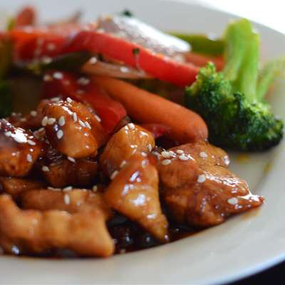 Sweet, Sticky and Spicy Chicken - RecipeNode.com