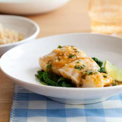 Thai-Style Halibut with Coconut-Curry Broth - RecipeNode.com