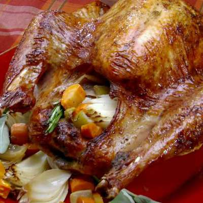 Thanksgiving Pioneer-Style Herb Roasted Turkey - RecipeNode.com