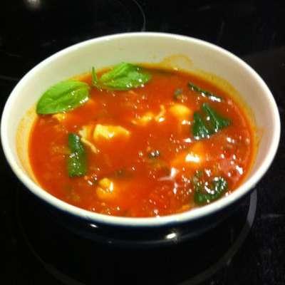 Tomato Basil Soup - RecipeNode.com