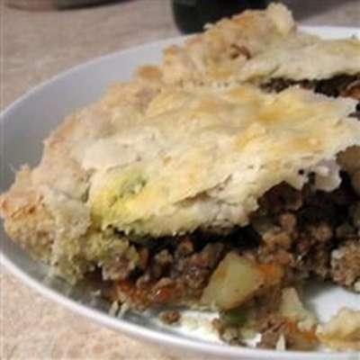 Tourtiere (Meat Pie) - RecipeNode.com