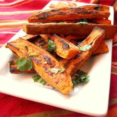 Tropical Sweet Potato Fries - RecipeNode.com