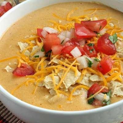 TSR Version of Chili's Chicken Enchilada Soup by Todd Wilbur - RecipeNode.com