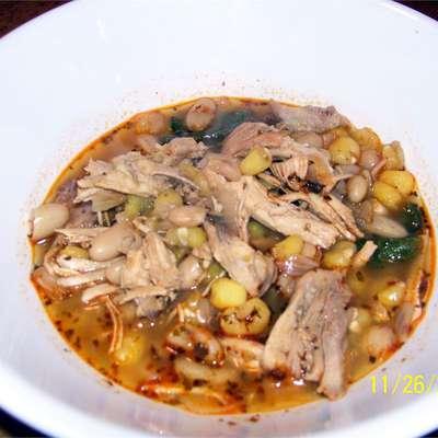 Turkey Posole - RecipeNode.com