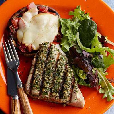 Tuscan-Style Grilled Tuna Steaks - RecipeNode.com