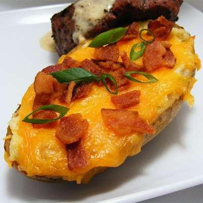 Twice Baked Potatoes II - RecipeNode.com
