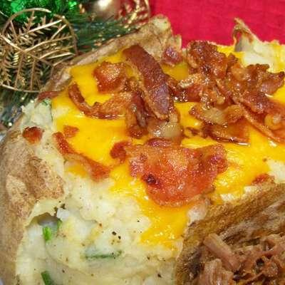 Twice Baked Potatoes - RecipeNode.com