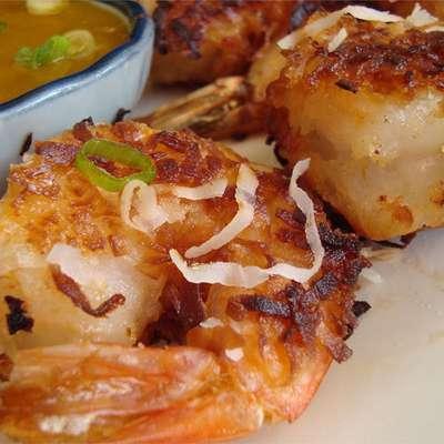 Twice-Cooked Coconut Shrimp - RecipeNode.com