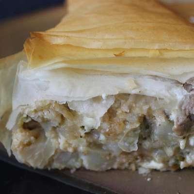 Vegetable Filo Pie - RecipeNode.com