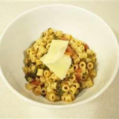 Wendy's Quick Pasta and Lentils - RecipeNode.com