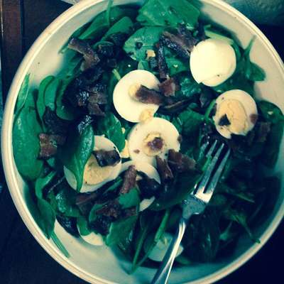 Wilted Lettuce Salad - RecipeNode.com