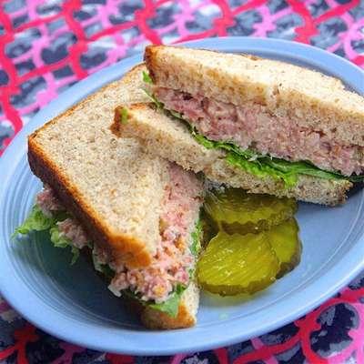 Winter Blossom's Often Requested Ham Salad - RecipeNode.com