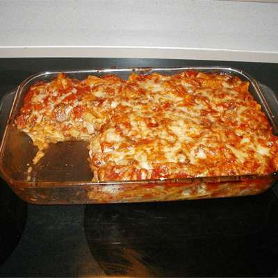Ziti with Italian Sausage - RecipeNode.com