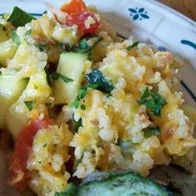 Zucchini Herb Casserole - RecipeNode.com